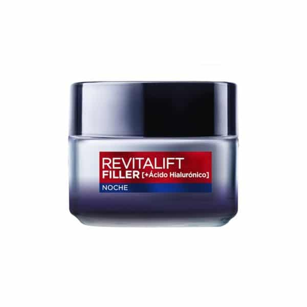 L´Oréal Paris Revitalift Filler Crema Rellenadora de Noche [+Ácido Hialurónico]-50ml