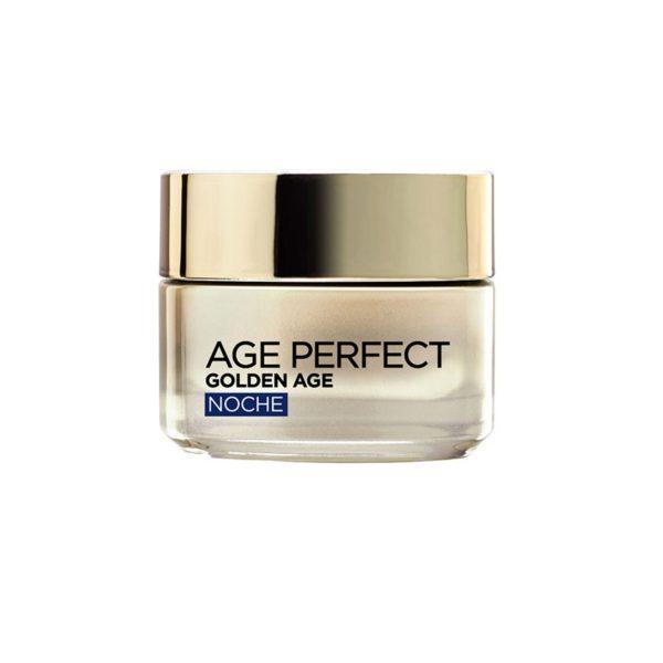 L'Oréal Paris Age Perfect Golden Age Crema de Noche Pieles Maduras y Apagadas - 50ml
