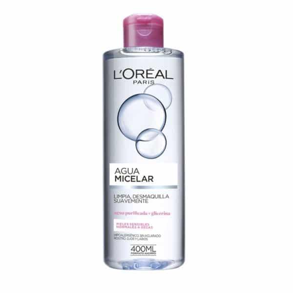 L'Oréal Paris Agua Micelar Pieles Normales a Secas 400ml