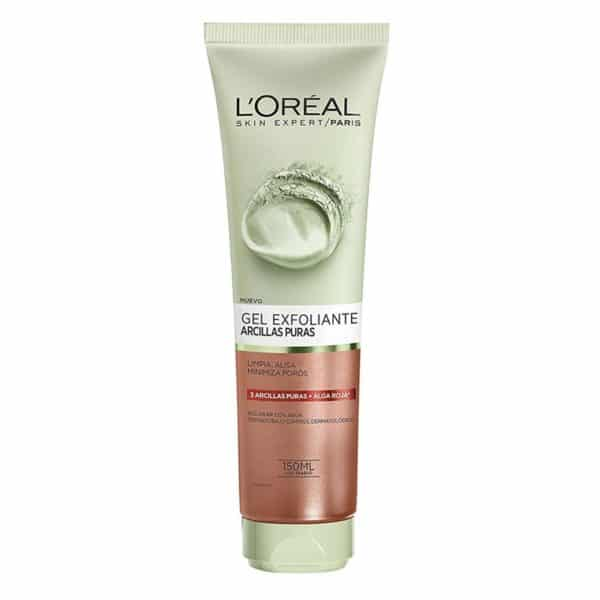 L'Oréal Paris Gel limpiador Arcillas Puras Exfoliante 150ml