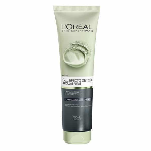 L'Oréal Paris Gel limpiador Arcillas Puras Efecto Detox 150ml