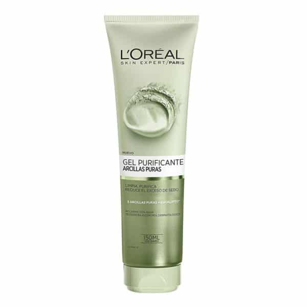 L'Oréal Paris Gel limpiador Arcillas Puras Purificante 150ml