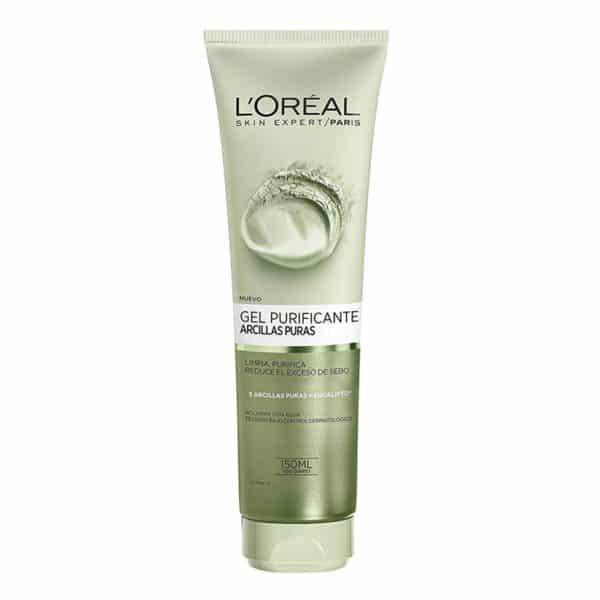 L'Oréal Paris Gel limpiador Arcillas Puras Purificante 150ml