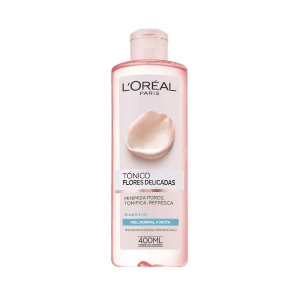 L'Oréal Paris Flores Delicadas Tónico Facial Pieles Mixtas 400ml