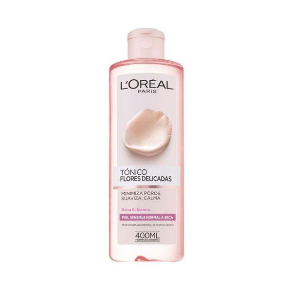 L'Oréal Paris Flores Delicadas Tónico Facial Pieles Sensibles 400ml