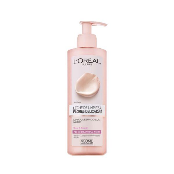 L'Oréal Paris Flores Delicadas Leche Limpiadora Pieles Sensibles 400ml