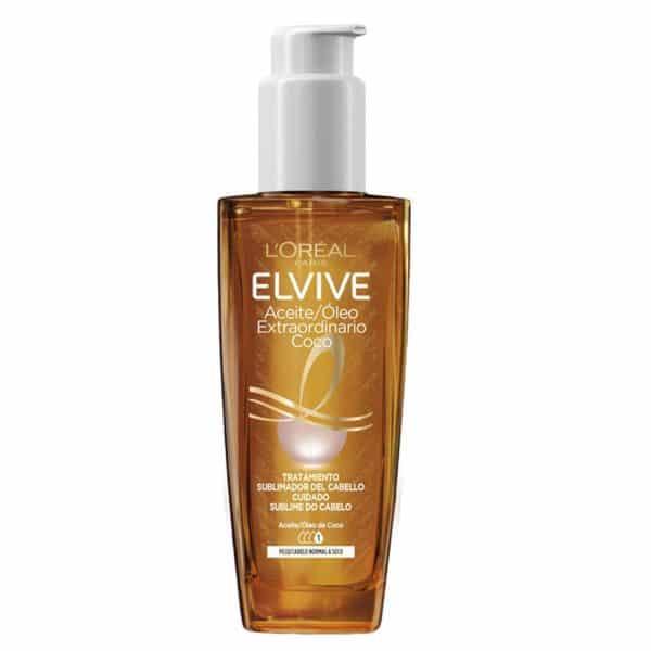 L´Oréal Paris Elvive Aceite Extraordinario Coco, Tratamiento uso universal para pelo normal a seco 100ml