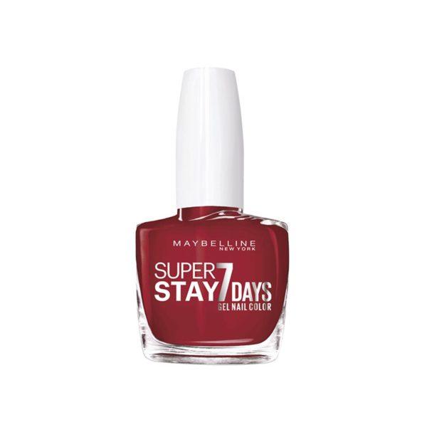 Maybelline Superstay 7 Días Laca de Uñas 006 Deep Red .