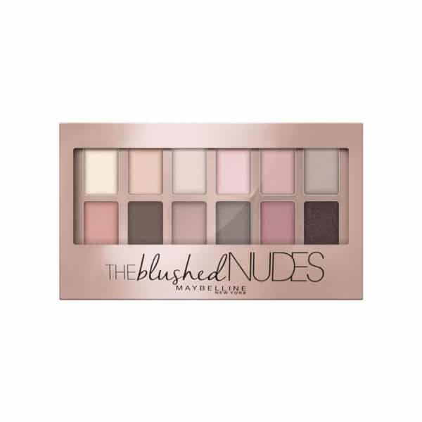 Maybelline The Blushed Nudes Paleta de Sombras de Ojos