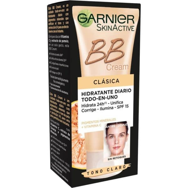 Skin Active BB Cream Clásica con vitamina C - Clara 50 ml