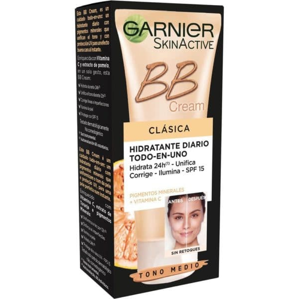 Skin Active BB Cream Clásica con vitamina C - Medio