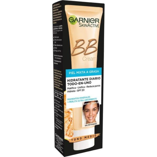 Skin Natural BB Cream piel mixta grasa - Medio