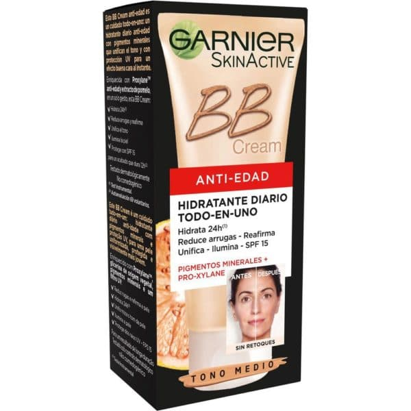 Skin Naturals BB Cream anti-edad - Medio
