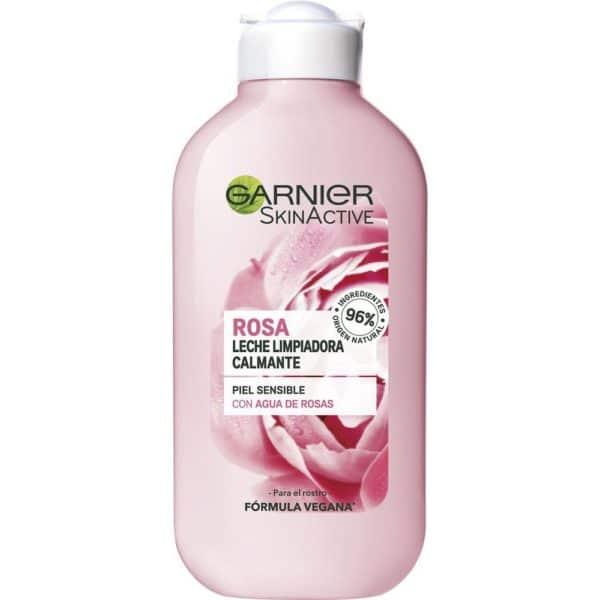 Skin Active Leche Limpiadora Botánica Agua de Rosas - 200 ml