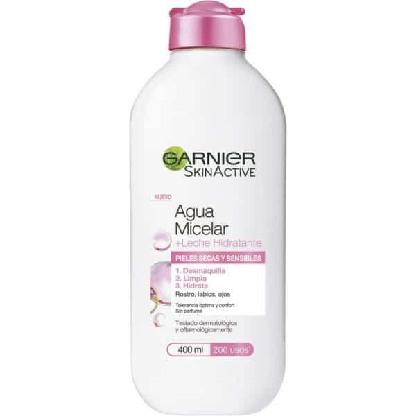 Garnier Agua Micelar con Leche Hidratante piel seca y sensible - 400 ml