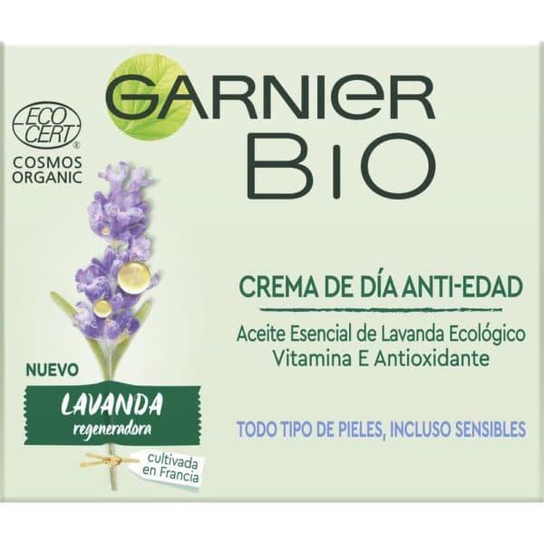 Garnier BIO Crema Antiedad Dia Lavanda - 50 ml