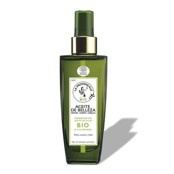 La Provençale Bio Aceite de Belleza Multiusos para Rostro - Cuerpo - Cabello con Aceite de Oliva Bio - 100ml