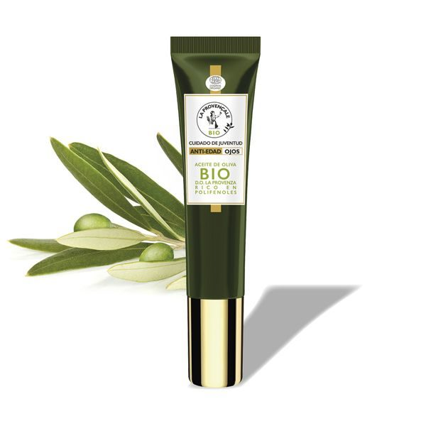 La Provençale Bio Contorno de Ojos Antiedad con Aceite de Oliva Bio - 15ml