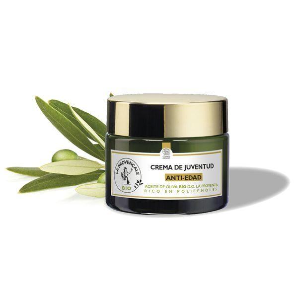 La Provençale Bio Crema Antiedad de día con Aceite de Oliva Bio - 50ml