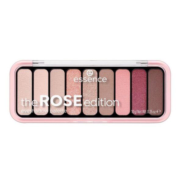 Essence the ROSE edition paleta de sombras 20