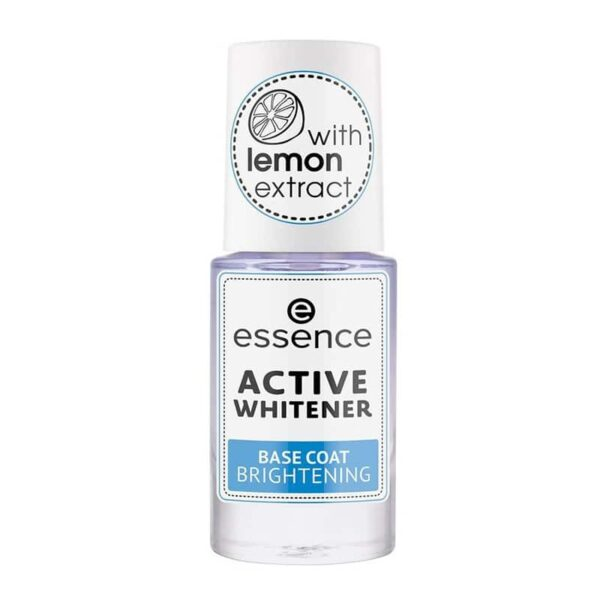 Essence ACTIVE WHITENER base de uñas brillo
