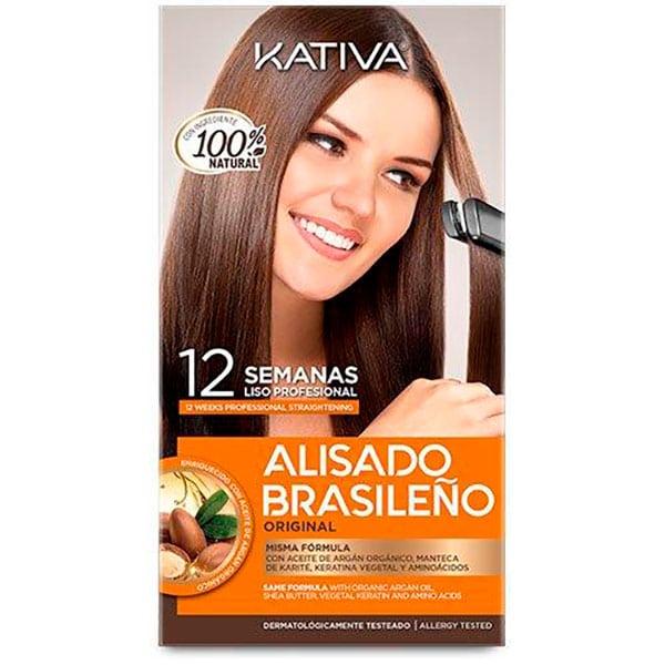 Kativa kit Alisado Brasileño - Brazilian Straightening.