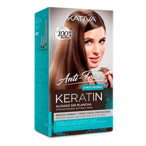 KERATIN ANTI FRIZZ XPERT REPAIR - KIT ALISADO SIN PLANCHA