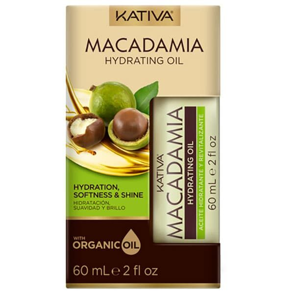 KATIVA ACEITE HIDRATANTE MACADAMIA 60ML