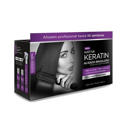KATIVA KERATIN KIT ALISADO BRASILEÑO XPRESS